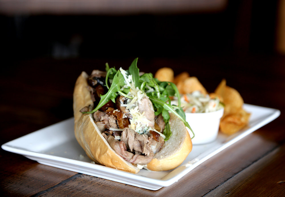 Lamb Cheesesteak// Photo by Blonde Cravings