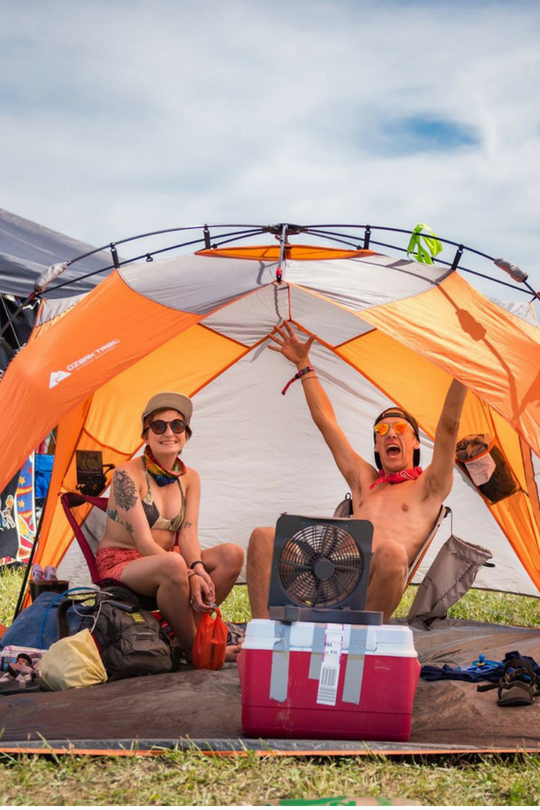 Camping at Firefly? How To Pack Your Food Like A Pro!