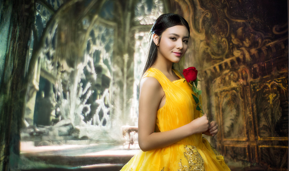 fairyland Series - Beauty And The Beast Inspired Shoot