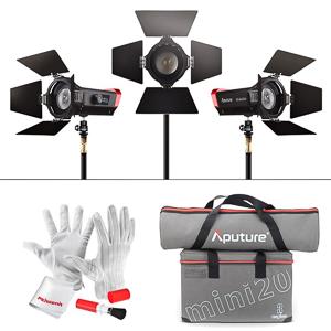 Aputure LS-mini20 Light Kit -