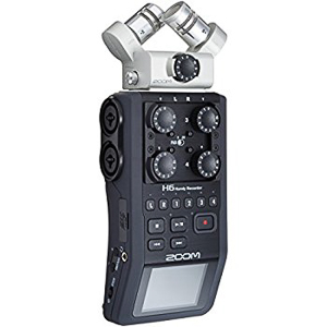 Zoom H6 Six-Track Portable Recorder -