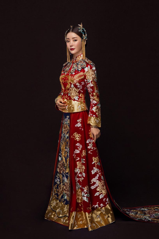 中国风 复古旗袍   中国古典美,做一个美丽的新娘