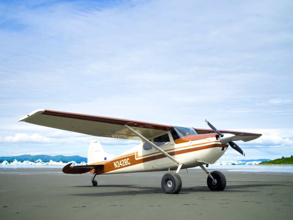 The cessna is great for aerial photography, survey work and remote transportation.