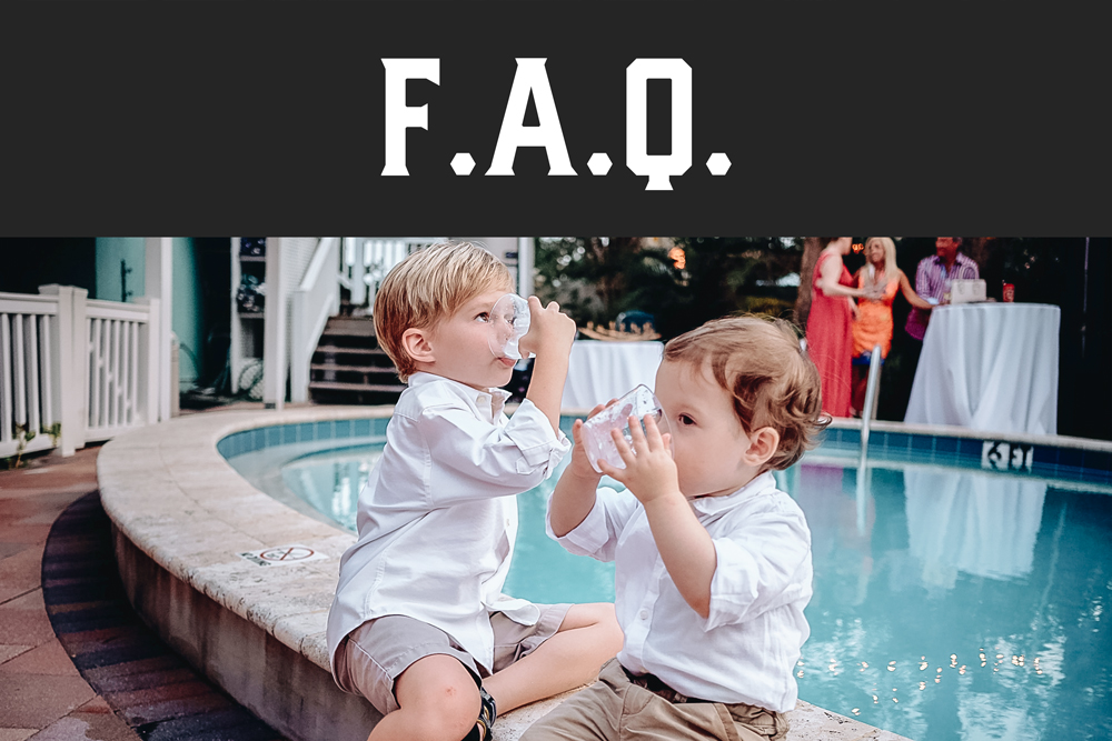 You have questions, and we have answers. These are our most common questions, and some tips too!