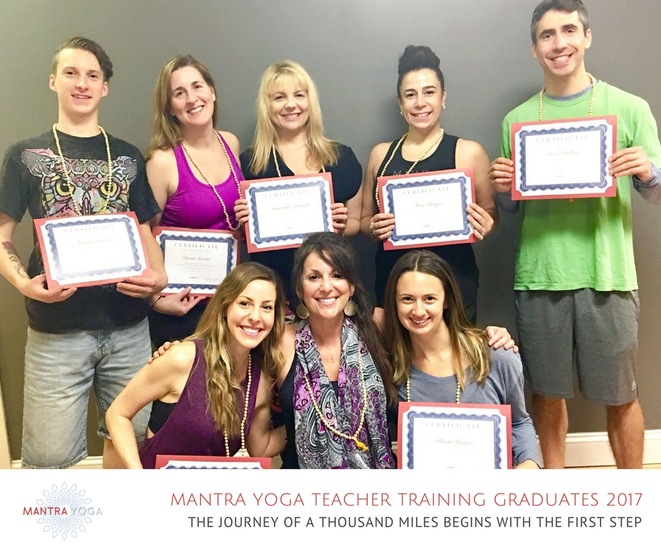 Mantra Yoga Teacher Training Graduates