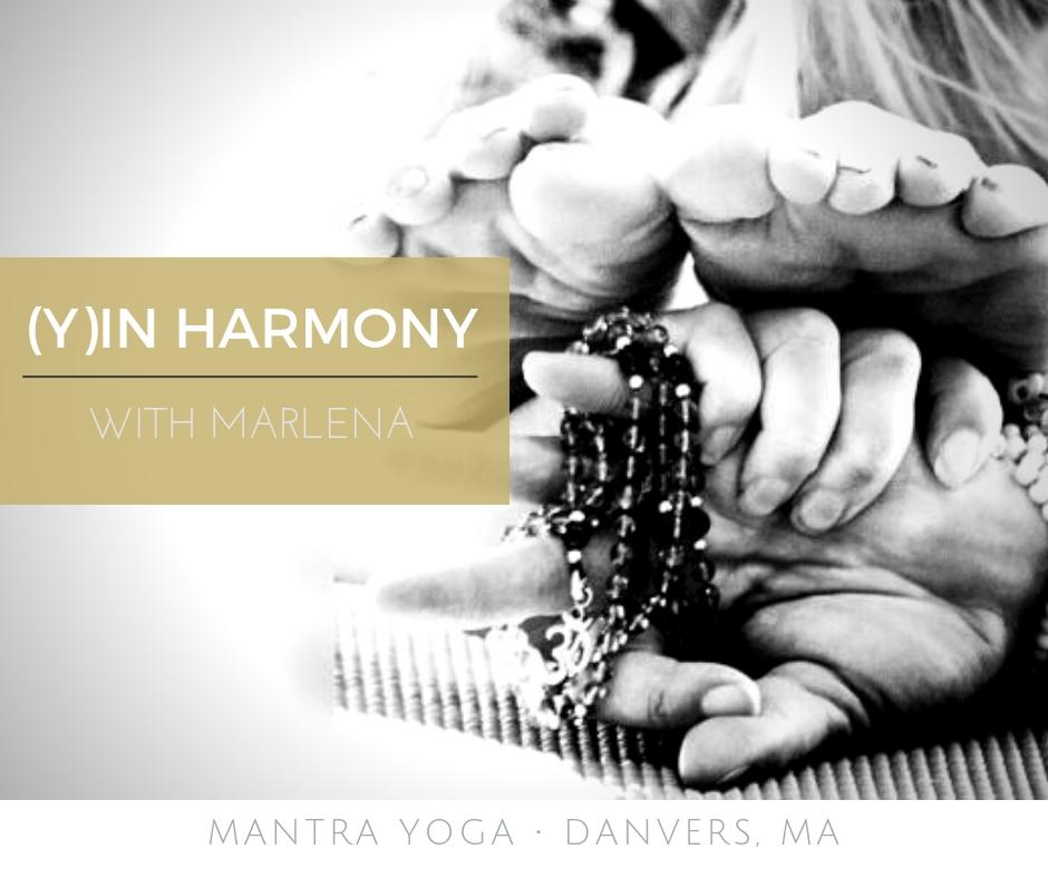 Yin Harmony Therapeutic Yoga with Marlena Bruno