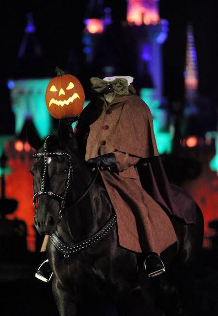The Headless Horseman rides again!