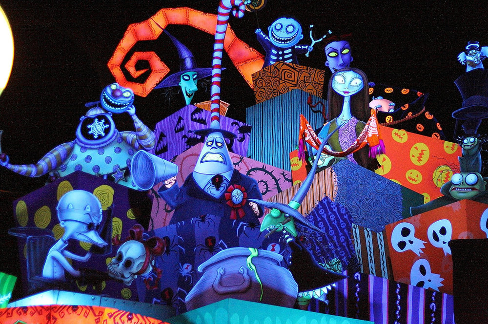 The intro for Haunted Mansion Holiday