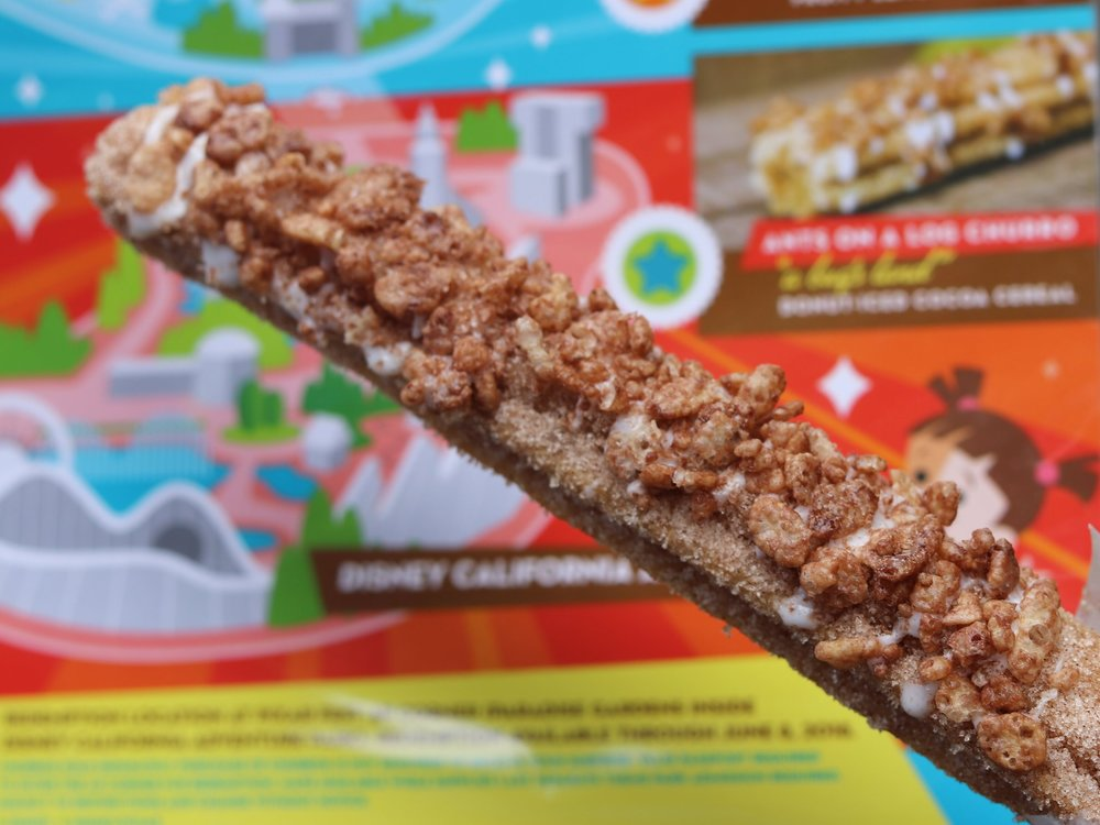 Ants on a log churro.JPG