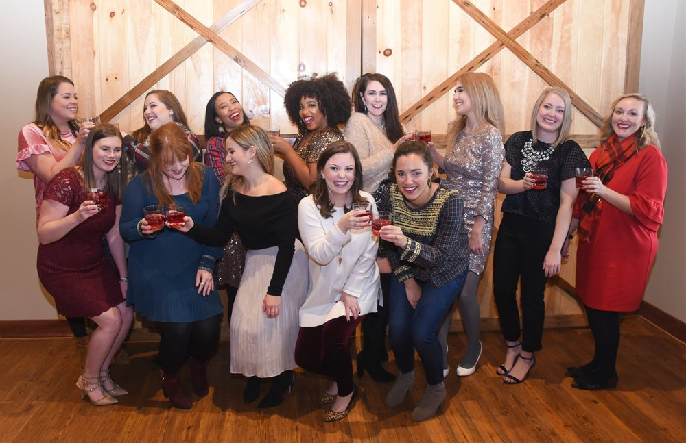 Loved meeting these bluegrass bloggers from all over the state! / Photo by Jenny of Jenfolio