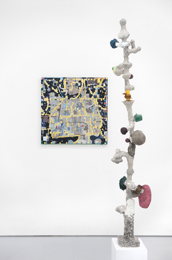 Jack Coyle tall sculpture and sq painting 2 web.jpg