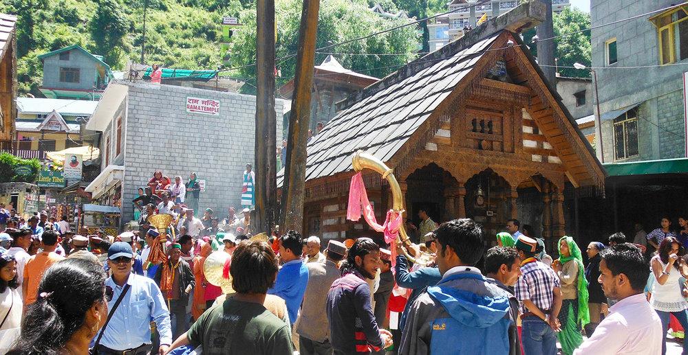 Shiva Temple in Vashisht