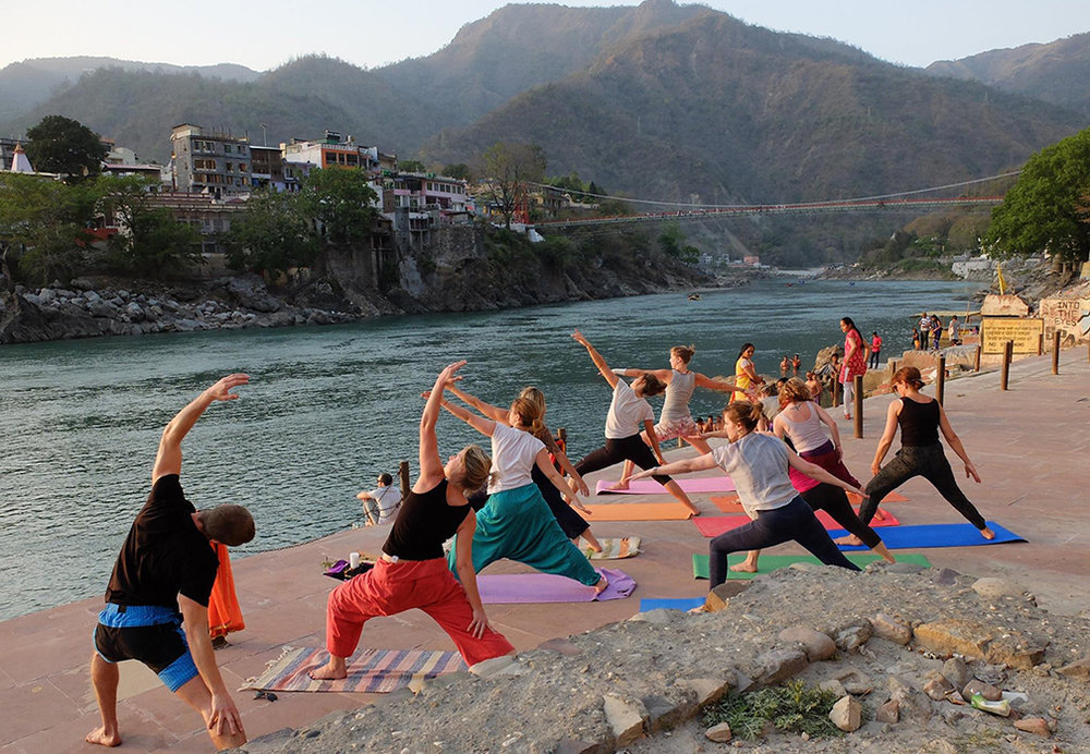 Yoga in Rishikesh, On the Ganges River