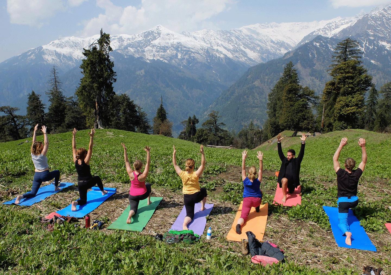 Best Yoga Retreat In India Open Lotus Yoga Retreat Manali