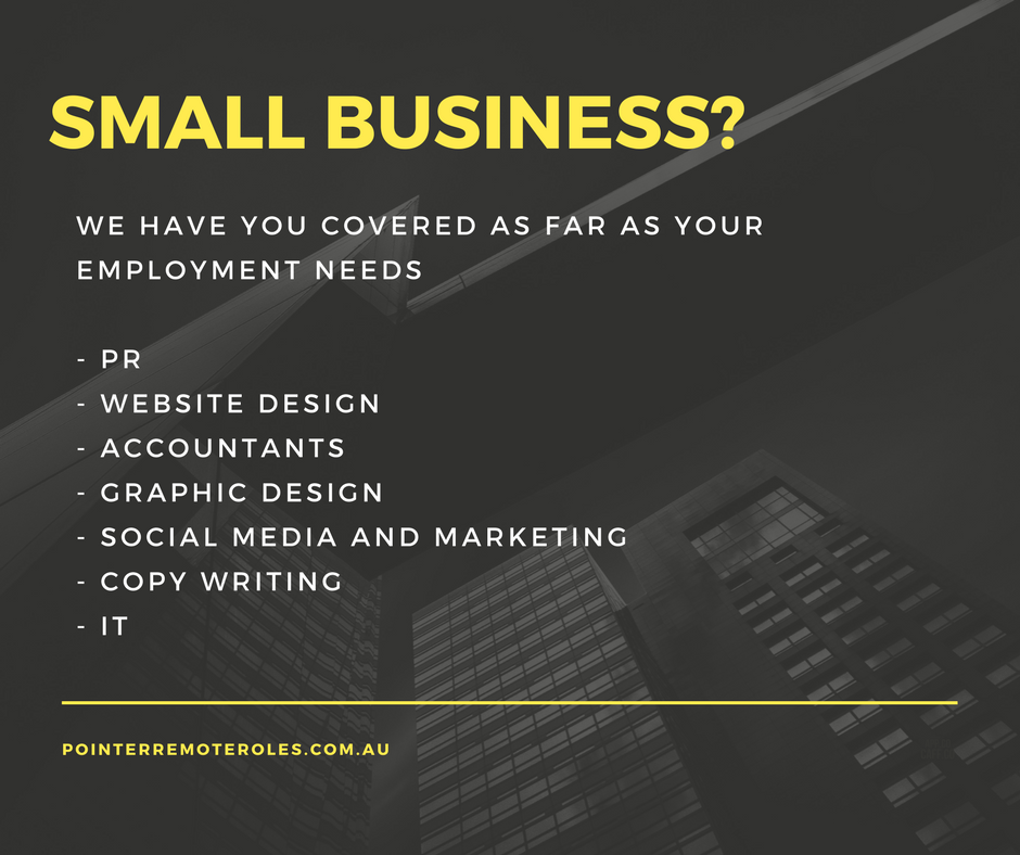 Small business ad