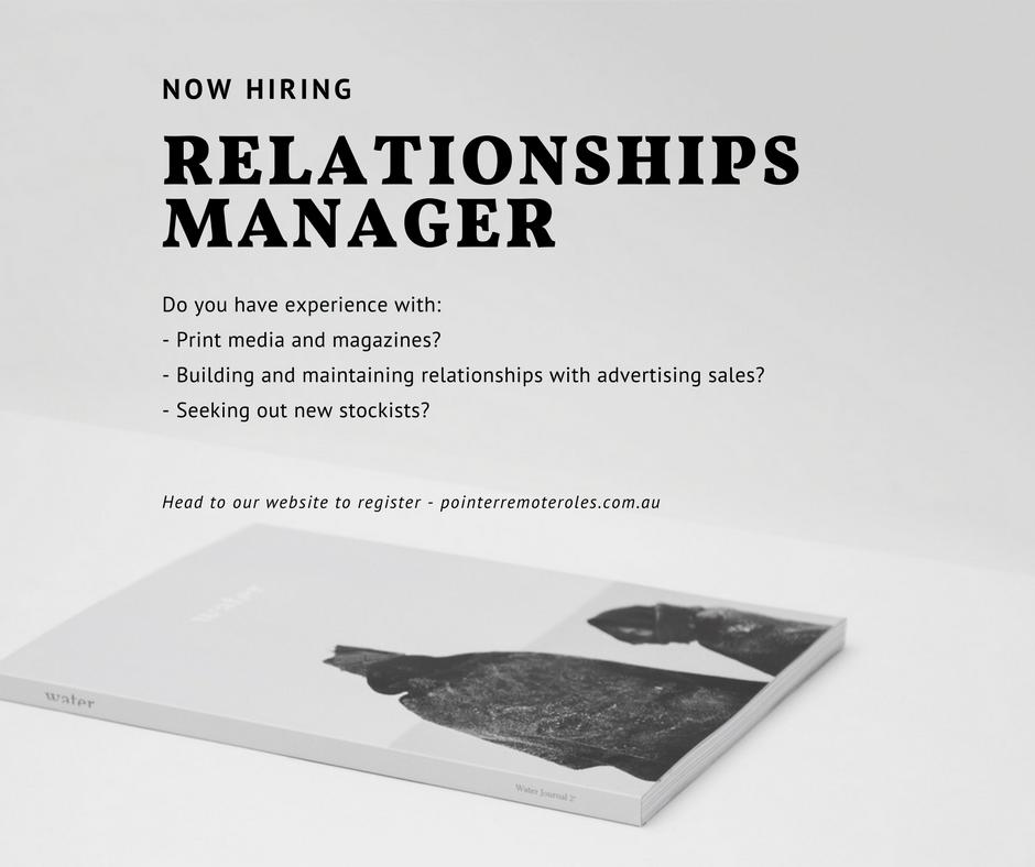 Relationships manager