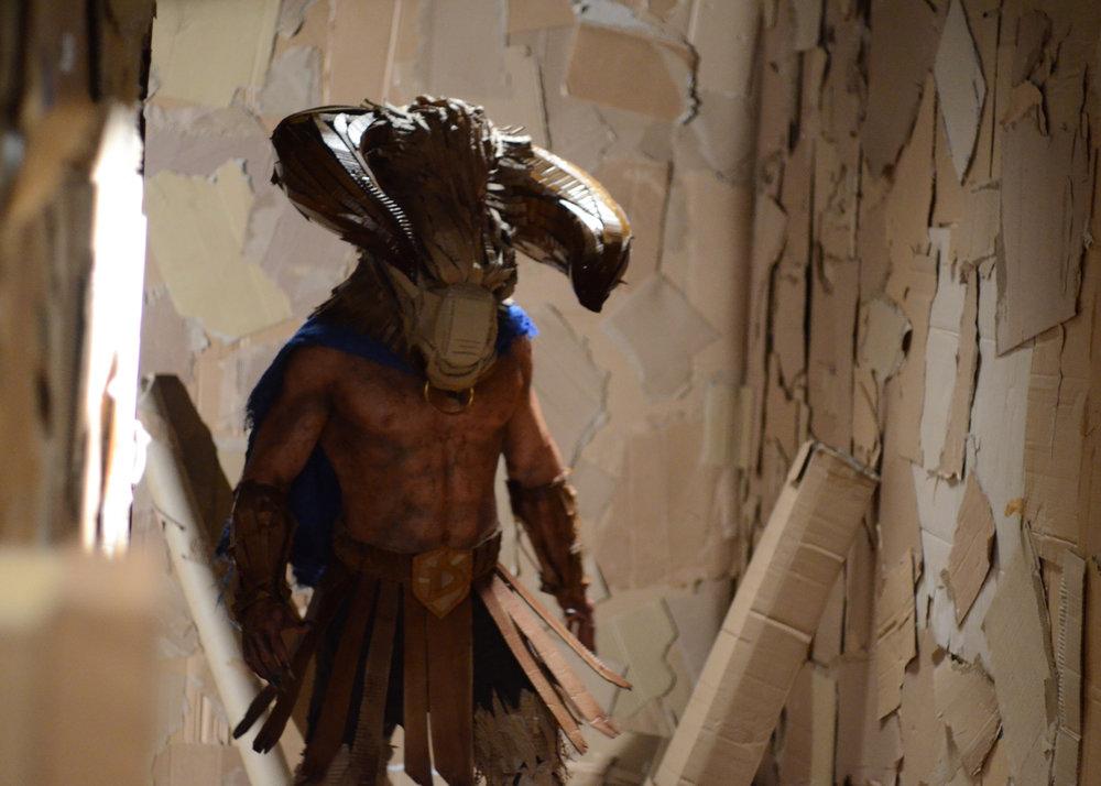 DAVE MADE A MAZE - John Hennigan as %22The Minotaur%22 (photo by Chelsea Coleman).jpg