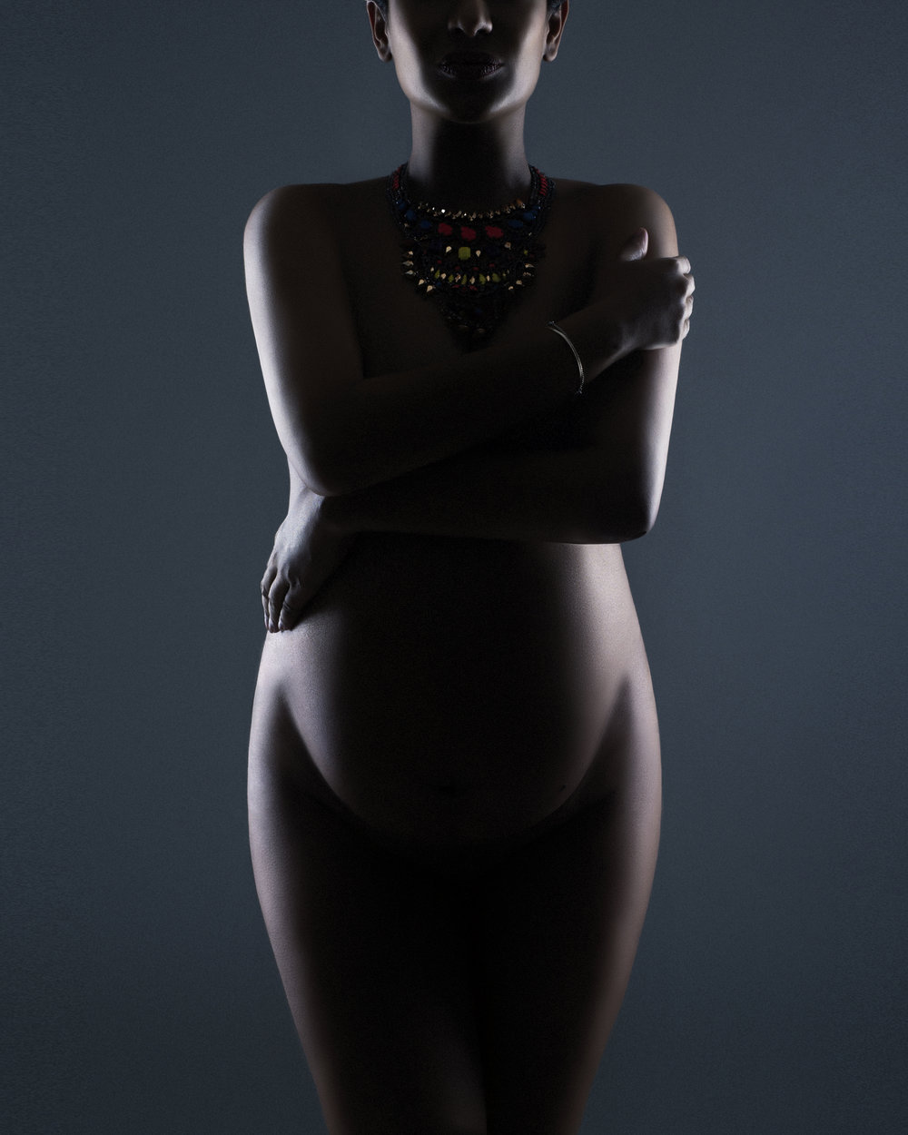 Artistic nude maternity photographs by awards winning photographer Liliya Lubenkova Portraits, Vancouver BC