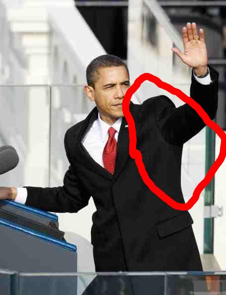 obama huge divots.