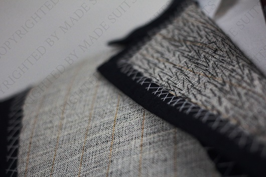 NO HORSING AROUND: Horsehair canvas in quality men's suit jacket construction (PHOTO: Made Suits)