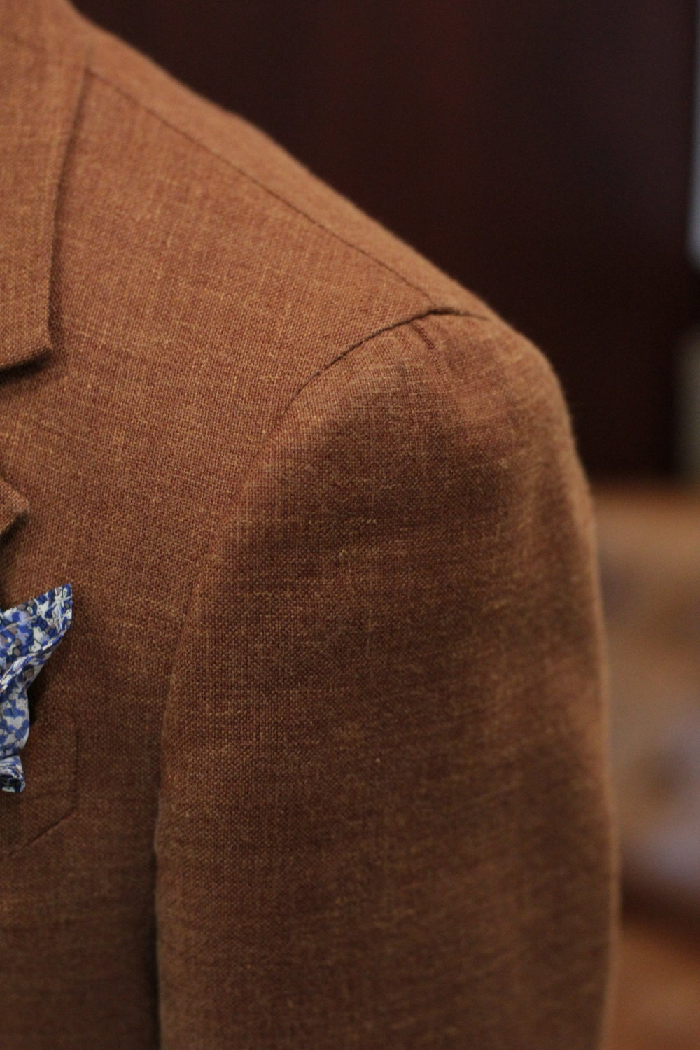 Neapolitan Shoulder with Vitale Barberis Canonico