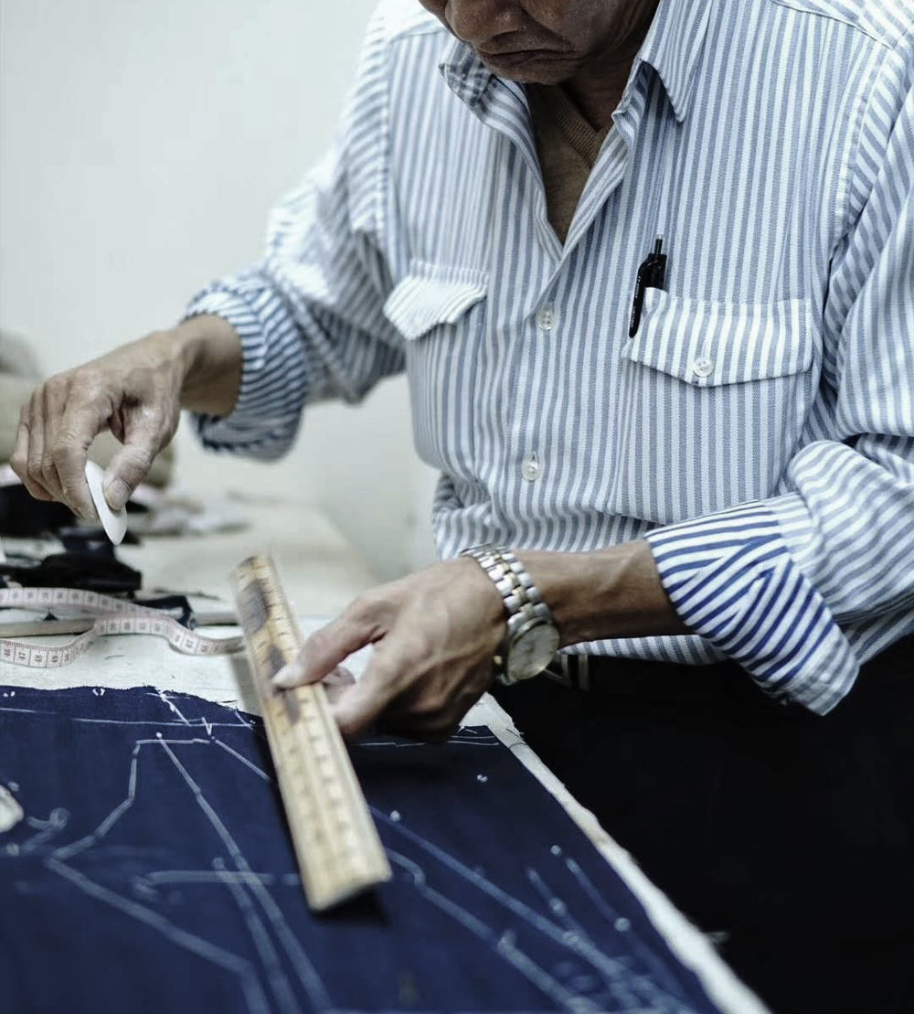 BESPOKE TAILORING - HAVE YOU EVER Tried IT?BY Our SHIFU MASTER.