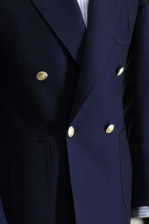 Golden Blazer Buttons