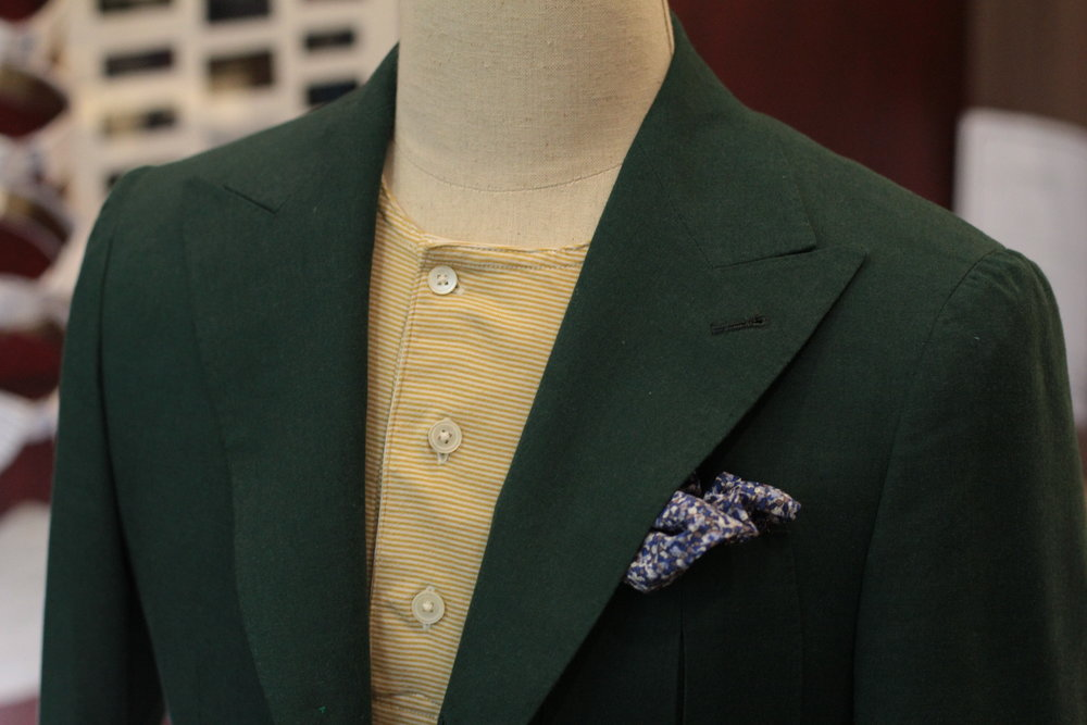 Green Goblin Made Suits Tailor singapore suits bespoke made to measure peak lapels.JPG