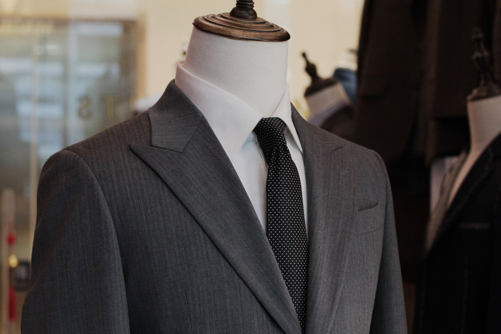 Chicago | Tailor Made Suits | Stylbiella Peak Lapels.JPG