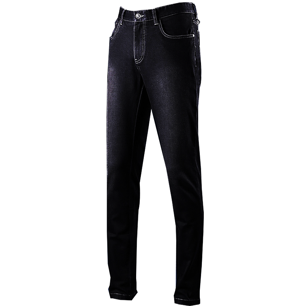 Panther Black Denim Jeans | Bespoke| Made to measure | Denim Jeans.png