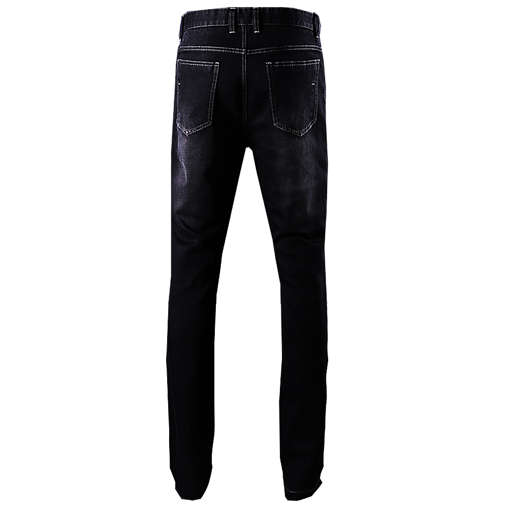 Panther Back Black Denim Jeans | Bespoke| Made to measure | Denim Jeans.png