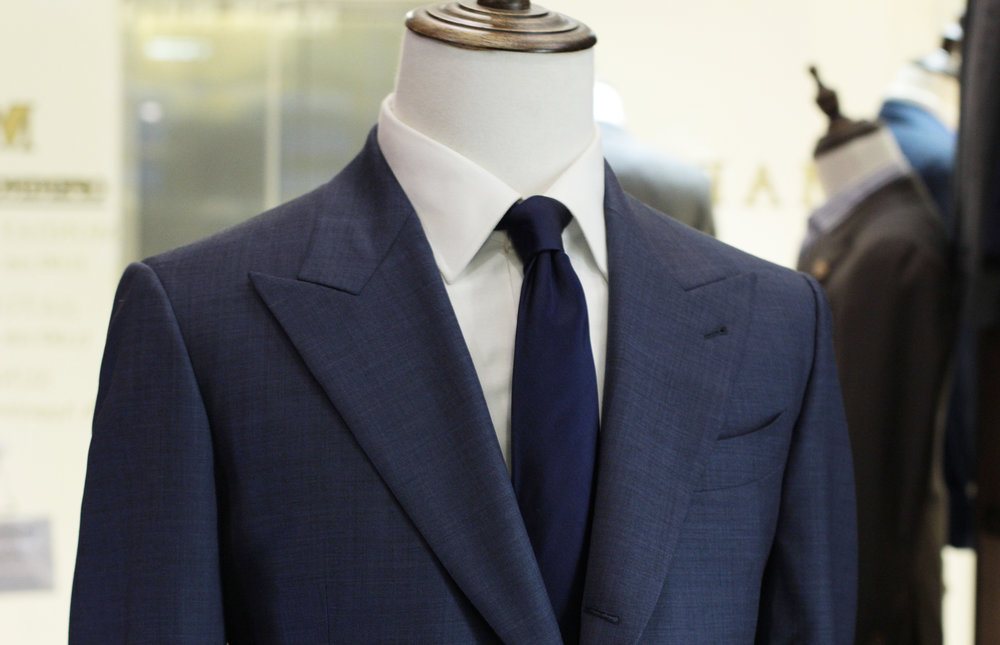 Thor 568A | Made Suits | Tailor made suits | Singapore Suits peak lapel.JPG
