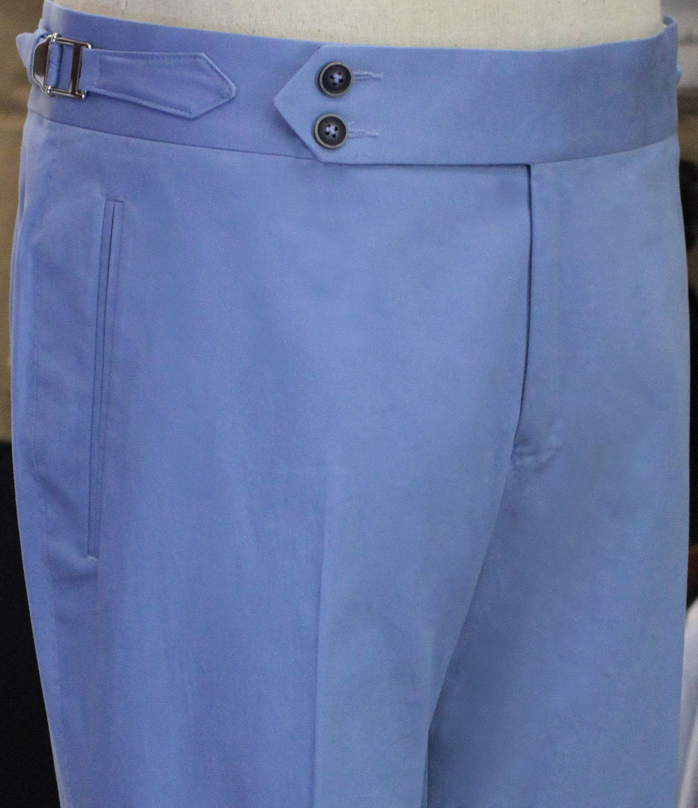 Double Button front with pointed extender