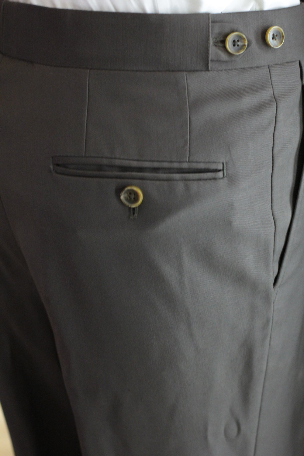 Back Pocket With Button