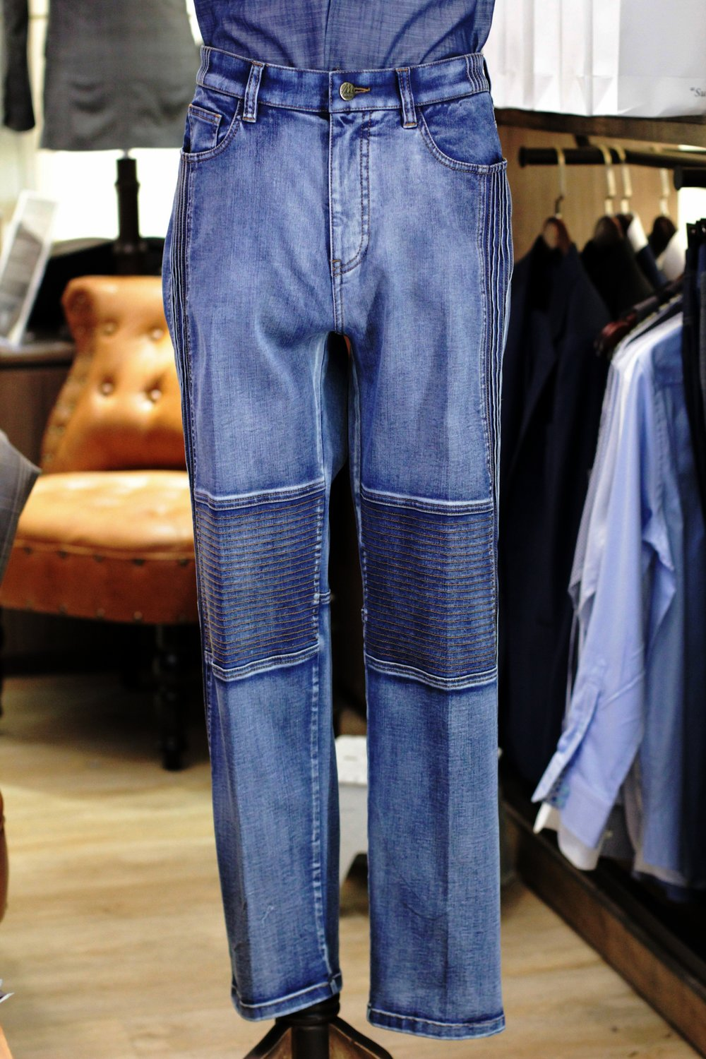 Motorcycle Denim Jeans