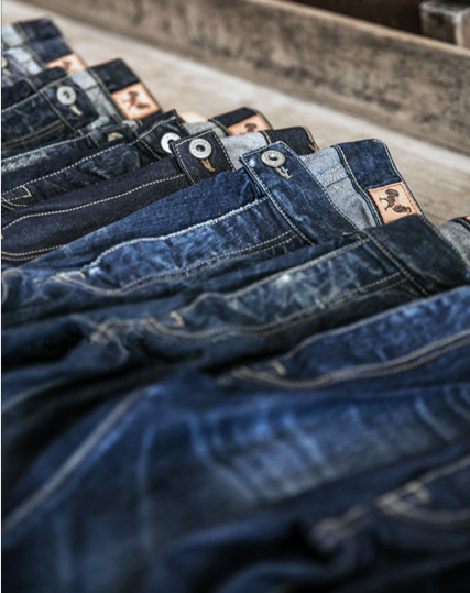 MADE DENIM. -