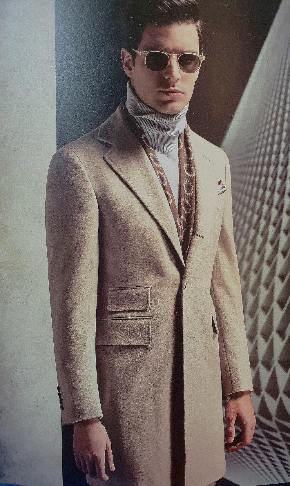 Beige Overcoat | Made Suits | Tailor made overcoat | bespoke overcoat | Made to measure overcoat STYLBIELLA Look.jpg