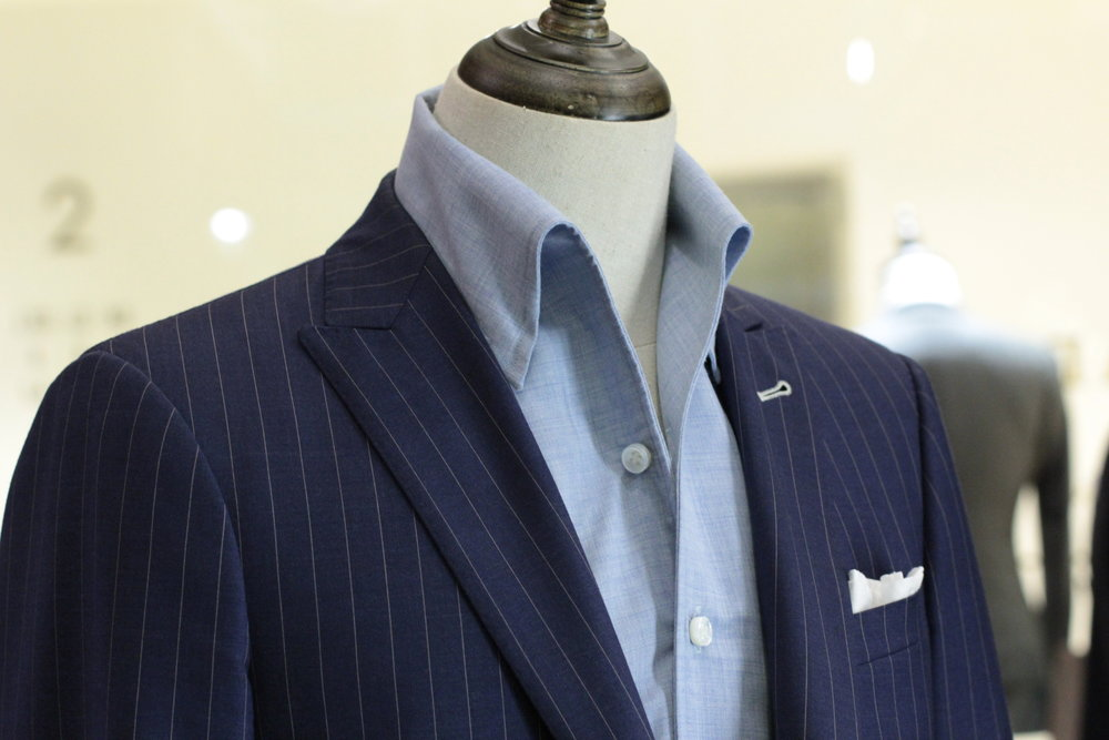 Mr Creative   Tailor Made Suits   Pinstripe Suits   Bespoke Suit Singapore   Singapore Tailor front.JPG