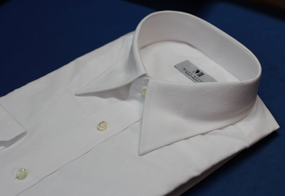 White Floral Pointed Collar by Made Suits Broadcloth.JPG