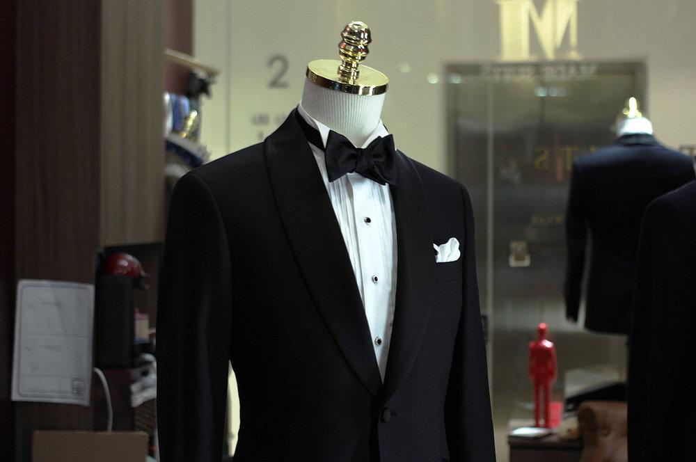 Skyfall Tuxedo Made Suits Tailored Bespoke Tuxedo Singapore inner lining side view.JPG