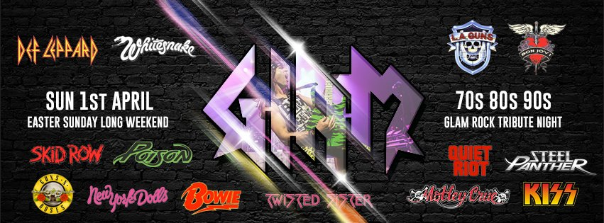 Glam Rock Tribute 70s 80s 90s