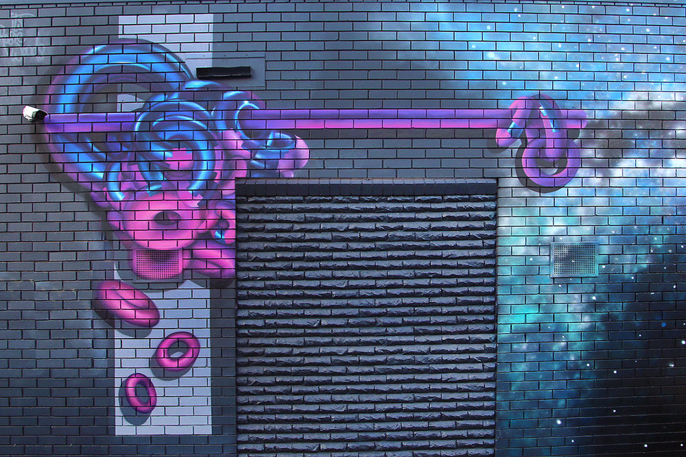YOUNG STREET MURAL | SPRAY PAINT | 2017