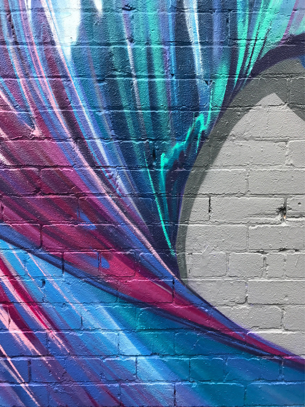 Detail of mural