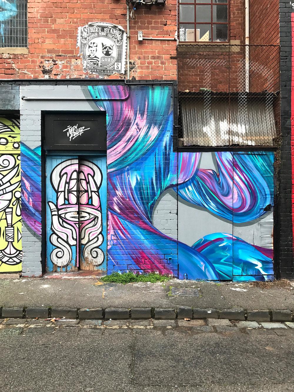 Mural at Juddy Roller