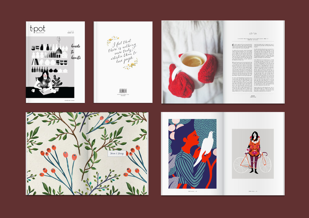 - content creation,art direction, editorial design& food styling