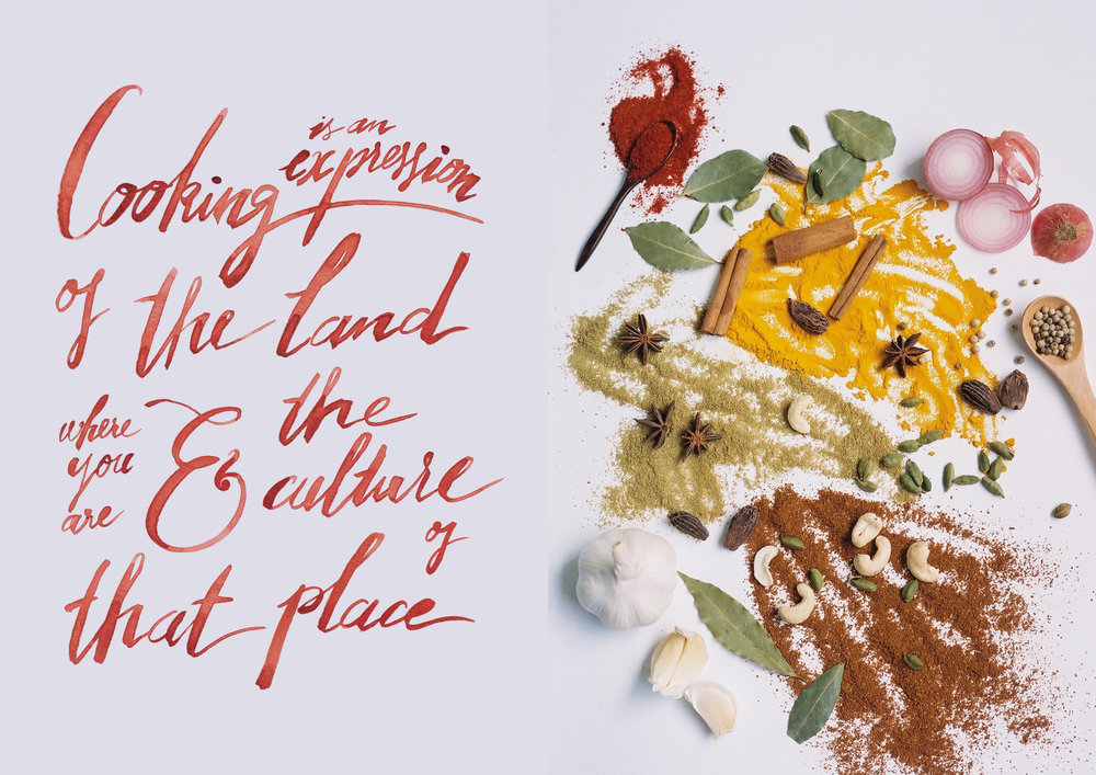 - art direction, editorial design, photography,hand-lettering & cook