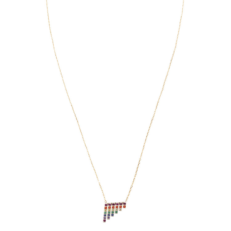 RAINBOW WATERFALL PENDANT