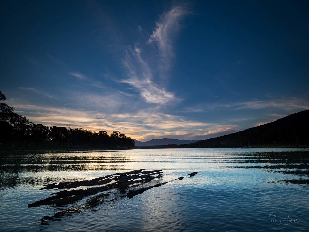 Afternoon at Lake Moogerah