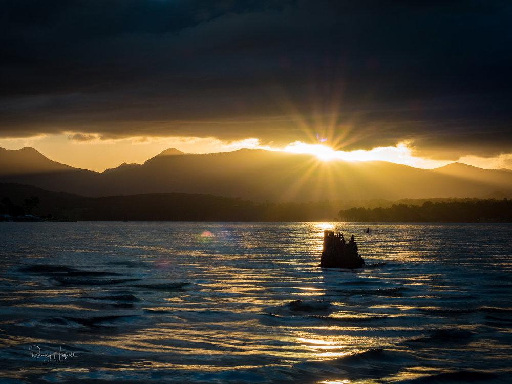 The moment the Sun Shone