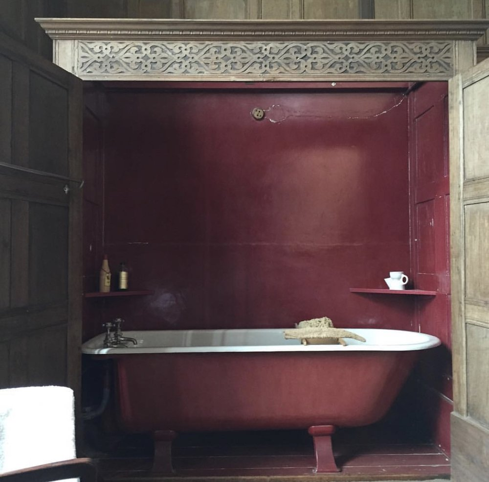 Bathroom at Montacute house